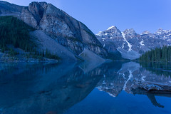 Moraine Morning Blues (Ken Krach Photography) Tags: lakemoraine banffnationalpark