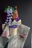 Monster High Wisteria Empress Akashi (5) 1:6 size doll. (Bright Wish Kanzashi) Tags: tsumami zaiku kanzashi silk dyed handmade tsumamizaiku tsumamikanzashi japanesetechnique flowers handdyed bespoke hanatsukuri цумами канзаши 簪子 instaart supportartists 手作り customorderswelcome etsyseller hairpin オーダーメイド 手染め ハンドメイド 伝統工芸 つまみ細工 簪 コーム ヘアアクセサリー brightwishkanzashi wisteria fuji purple bjd doll hairaccessory dollaccessory monsterhigh custom clawdeen 16size handmadekimonoandobi kimono obi