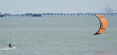 Kite surfer (Matt C68) Tags: kite surfer surfing shoeburyness shoebury beach sea river thames estuary essex southendonsea southend