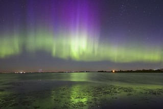 Aurora from the CME July 16