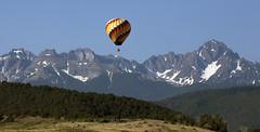 slow thrill (Jeff Mitton) Tags: balloon balloonride mountsneffels colorado sanjuanmountains landscape scenic mountains wilderness