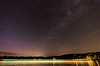 Milky Way and Aurora over Newfound Lake (alohadave) Tags: auroraborealis bristol channel effects graftoncounty lake milkyway newhampshire newfoundlake night northamerica partlycloudy pentaxk5 places sigma1020mmf456exdc sky still unitedstates water