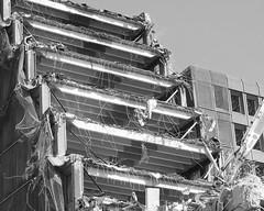 Demolition of St James' Centre (Wider World) Tags: scotland edinburgh stjamescentre demolition ferroconcrete reinforced floors