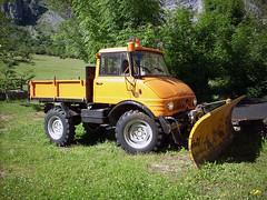 MB Unimog U404 (Actros1857LS) Tags: mb unimog u404 oldtimer kipper tipper lkw camion 4x4 qi quitanieves spazzaneve