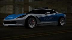 Corvette Stingray Polizei Car By Klv_3D (gabrielaparessido) Tags: corvette stingray polizei car by klv3d gta realista modificado graphy2017gtasan gtasanmodsgraficos