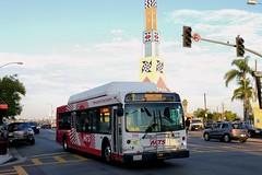 MTS Bus (So Cal Metro) Tags: bus729 700 rt7 cityheights bus metro transit mts sandiegotransit sandiego newflyer c40lfr