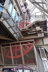 Les Engrenages de la Tour Eiffel (Muddy LaBoue) Tags: iledefrance monuments towers iconicarchitecture 1889 2017 july worldexposition eiffeltower paris france attractions tourism panasoniclumixdmctz60 summer
