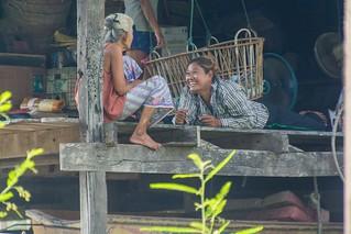 marche fottant damnoen saduak - thailande 46