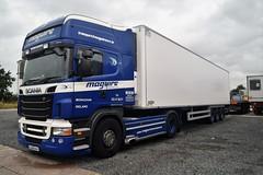 DSC_0007 (richellis1978) Tags: truck lorry hgv lgv cannock haulage transport logistics scania r irl irish maguire 12mn971 r580 v8