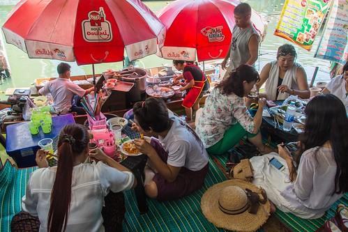 marché flottant amphawa - thailande 54