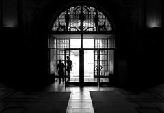 visitors (O.Krüger) Tags: rathaus deutschland germany niedersachsen hannover silhouette streetphotography sw schwarzweis socialdocumentary streetlife bw bianconero blackwhite peopleinthecity people personen monochrom urban streetpassionaward