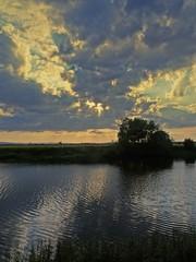 Summer Skies III (Bricheno) Tags: nethertonfarm sunset renfrew paisley river cart whitecart whitecartwater farm reflections bricheno scotland escocia schottland écosse scozia escòcia szkocja scoția 蘇格蘭 स्कॉटलैंड σκωτία