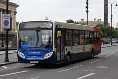 SM 27291 @ Liverpool Lime Street (ianjpoole) Tags: stagecoach merseyside alexander dennis enviro 200 sn65oek 27291 working route 19 kirkby civic centre liverpool moorefields