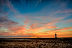 New Brighton beach and Lighthouse. (Paul_Dean) Tags: newbrighton beach lighthouse wirral merseyside seaside resort