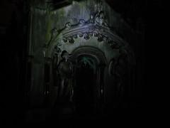 A Tomb at Night (failing_angel) Tags: 081016 london kensingtonchelsea bromptoncemetery monthofthedead londonmonthofthedead cemetery magiclantern throughaglassdarkly mervynheard phantasmagoria