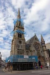 DSC00122 (LezFoto) Tags: sony rx100iii rx100m3 dscrx100m3 cybershot gilcomstonchurch aberdeen scotland uk sky clouds steeple spire churchspire