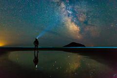 Nights at Long Beach (aaronvonhagen) Tags: tofino bc britishcolumbia milkyway nightphotography astrophotography canon 5dmarkiii vancouverphotographer reflection longbeach vancouverisland canada
