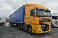 DSC_0008 (richellis1978) Tags: truck lorry hgv lgv cannock haulage transport logistics daf 105 xf wa liverpool distribution dg61lfy