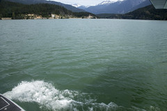 Harbour Air seaplane flight over Whistler, British Columbia, July 2017 (Rochdale 235) Tags: canada bc britishcolumbia flight plane aeroplane seaplane glaciers whistler harbourair sea otter dhc whistlerair glacier mountain mountains