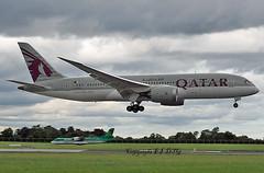 Boeing 787-8 (Dreamliner) A7-BCD Qatar (EI-DTG) Tags: planespotting aircraftspotting dublinairport dub collinstown eidw 21jul2017 boeing a7bcd qatar dreamliner boeing787 b787