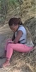 2017_0099 (Sergio Berio) Tags: italia italy roma rome woman donna girl ragazza blackwoman blackgirl ritratto africandiaspora diasporaafricana nigeria roccacencia viaprenestina africans