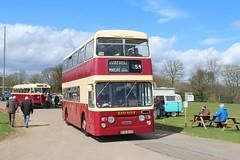 New owner. (steve vallance coach and bus) Tags: rfn953g daimlerfleetline parkroyal eastkent preserved southeastbusfestival detling