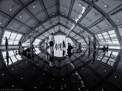 Horizon Field Hamburg (katrin glaesmann) Tags: horizonfieldhamburg antonygormley deichtorhallen 2012 people monochrome blackandwhite photowalkwithmichael fotowalkmitmichael fotowalkmitmichio