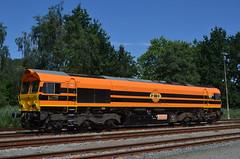 17.07.2017 (I); Eerste inzetdag derde Hommel (chriswesterduin) Tags: rrf railfeeding class66 hommel 56105 sloe roosendaal cargo goederentrein trein train