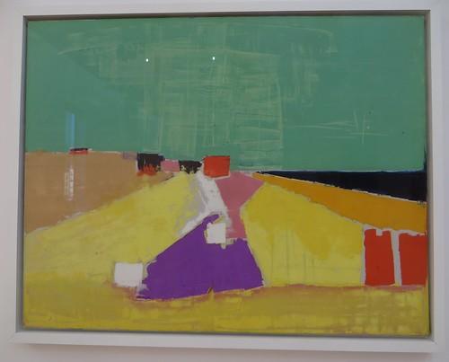 """""""Sicile"""", 1954, Nicolas de Staël (1914-1955), Musée de Grenoble, Grenoble, Rhône-Alpes-Auvergne, France."""
