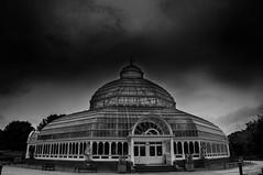 Sefton Park Palm House (Tony Shertila) Tags: 20170629130726 liverpool england unitedkingdom europe britain merseyside sefton park palmhouse structure architecture glasshouse outdoor sky bw gbr