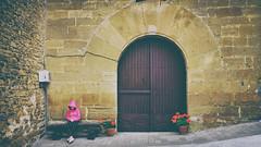 nº12 (idlphoto) Tags: pueblo village olleta navarra nafarroa puerta door lonely fuji fujixt1 fujinon18135 fujistas idlphoto