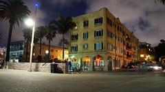 a night scene.... (ikiem2015) Tags: losangeles la santa monica santamonica night light house holidays usa california kalifornien nightscene