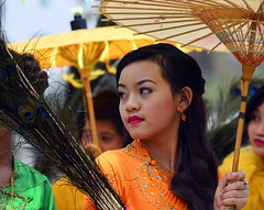 Shan State Girl (@Mark_Eveleigh) Tags: asia asian burma burmese east indochina myanmar south kalaw heho shan state ceremony buddhist festival procession carnival costume traditional