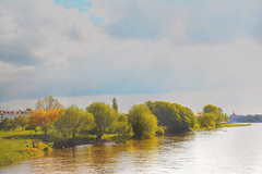 "Tranquility on the River Elbe in Germany. (""DavidJHiom"") Tags: elbe germany tranquility peaceful"