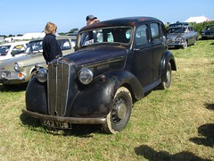 1946 Morris 10 #1 (occama) Tags: 243yud 1946 morris ten 10 black banger old car cornwall uk saloon rough rat