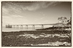 Old Fashioned Clevedon Pier (robbo1001) Tags: clevedon architecture pier