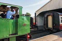 Bo'ness & Kinneil Railway - NCB (060ST) Engine No 9 Shunting (Le Monde1) Tags: boness kinneil lemonde1 nikon d800e museum heritage uk bonesskinneilrailway museumofscottishrailways ncb 060st engine no9 shunting engineers footplate scotland steam railway