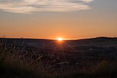 DAN_8982 (dan_c_west) Tags: nikon d750 sheffield bole hill sunset sunstar lens flare view