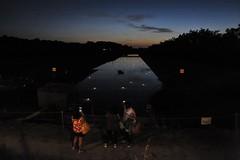 Nell'arena delle balle di paglia (lorenzog.) Tags: nikon d700 nellarenadelleballedipaglia dusk sunset canaleemilianoromagnolo cotignola italy ravenna night arenadelleballedipaglia cer