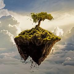 my work _my island is similar the little prance. #little pranc#island#photoshop#adobe#tree#sunrise (abolfazl hosseini) Tags: adobe little island tree sunrise photoshop