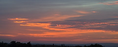 Rivington Moor sunset 18072017 (Nigel Valentine) Tags: sunset clouds winter hill radio transmitter bolton horwich rivington moor