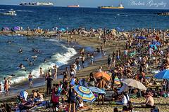 Barcelona (Andrés Gz. Ms) Tags: barcelona barceloneta playa sea beach landscape paisaje paisatge hdr spain nikon d7100 70300mm