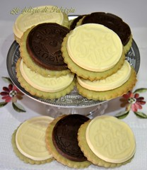 Biscotti al pistacchio con placchette di cioccolato (Le delizie di Patrizia) Tags: biscotti al pistacchio con placchette di cioccolato le delizie patrizia ricette dolci pasticceria secca
