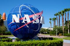 Kennedy Space Center (Håkan Dahlström) Tags: 2017 center fl florida globe kennedy logo nasa photography sign space states united usa merrittisland unitedstates xt1 f10 1420sek xf1855mmf284rlmois cropped 67411072017162256 unnamedroad us creative commons cc