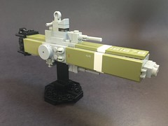 USS Tempest (NuthinButTheRain) Tags: spaceship gunship microspace tempest typhoon ship space lego moc