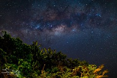 The Milky Way from Chale Island