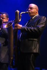 ¡Cubanismo! (2017) 07 (KM's Live Music shots) Tags: worldmusic cuba cubanson cubanismo baritonesax saxophone barbican