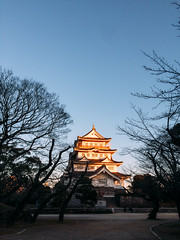 Chiba Castle 千葉城 (garygaldamez) Tags: japan japón travel travellers wanderlust iphone 5s photography streetphotography 日本 旅行 歩く blue day chiba
