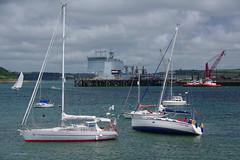 3K001819a_C (Kernowfile) Tags: cornwall falmouth yachts ships clouds water sea docks pentax