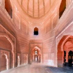 India - Uttar Pradesh - Fathepur Sikri - Jama Masjid - 48bb (asienman) Tags: india uttarpradesh fathepursikri jamamasjid asienmanphotography asienmanphotoart